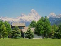 Premier Teton Views in tax advantaged Wyoming. Well