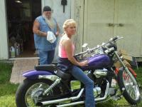 I have a very nice Honda shadow Spirit 750 LOADED