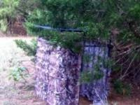 Custom hunting blinds for sale $125.00  ***Sturdy