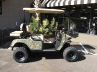 THIS HUNTING GOLF CART IS ON CLEARENCE FOR THE END OF