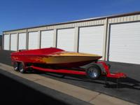 CUSTOM JET BOAT 1984 NORDIC HULL 22FT. VIKING