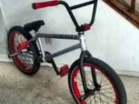 I have a kink bmx bike all custom parts it has fit
