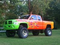 1997 ram 1500 74,000 miles custom paint, lifted with