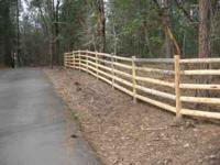 ***Mill Direct*** Custum Country Log Fencing! 1,2,3 or