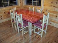 OSAGE CREEK LOG FURNITURE WHERE QUALITY COUNTS