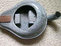 Custom Made Bed Pan guitar available in non electric