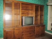 Custom Made Bookcase/Entertainment Center made by Terry