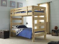 Locally developed, personalized Bunk Beds from
