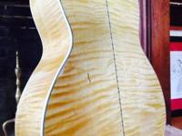 Custom-made made guitar by famous luthier, Chris