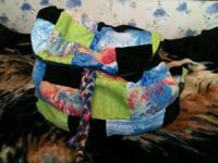 I make hand made custom patchwork purses. There are