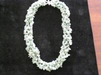 Picture #1  This beautiful  lacy looking necklace is