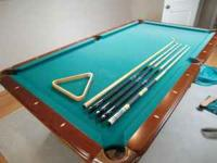 Looking to sell a custom made pool table. Barely played
