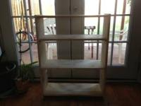 Customized Made Real Wood Three rack bookcase by
