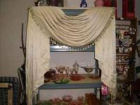 beautiful window treatments - there are 2 of them EACH
