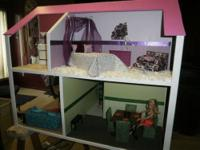One of a kind Doll house! This doll house is custom