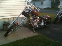 "This listing is for a Custom Motorcycle by ""New England"