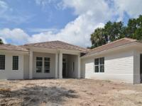 New custom spacious home with upgraded cabinets,
