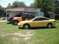HOT RODZ PAINT & BODY CRASH REPAIR WORK CENTER ALL OVER