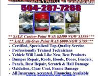 Universal Paint & Crash Repair. 2616 Sharon St. Device