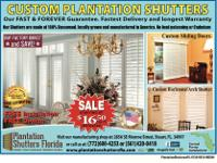 Type: Plantation Shutters Company I Started in the