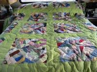 FOR SALE, 1 FULL, 1 QUEEN , HAND MADE QUILTS, VERY