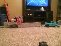 Has a slash motor and esc 2wd pulling truck and sled
