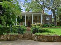 Totally private 8+/- acre estate in Sandy Springs!