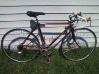 We have up for sale a very nice Shogun man's road bike.