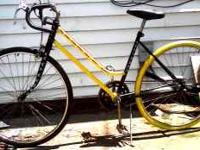 SINGLE SPEED ROAD BIKE 4 SELL! FRESH NEW PAINT JOB,