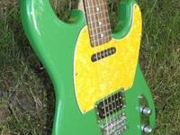 Here is a one of a kind customized Fender Squier '51