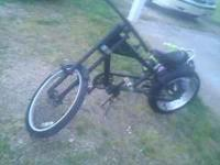 I have a sting ray chopper bike that was used off and
