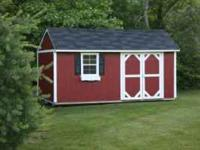 Custom built buildings! Much higher quality than sheds