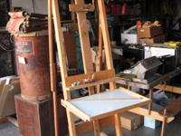 Awesome custom built professional studio easel, hand