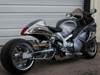 Have a full custom Suzuki Hayabusa Prostreet 330, with