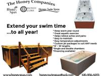 At Honey Swim Spas we make custom hot tubs and swim