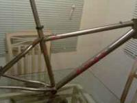 VERY NICE TITANIUM FRAME MADE BY EPIC NOW EVERTI OUT OF