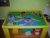 Are you in need of a train table for your child's