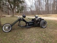 Custom Trike: Dodge Stealth V6 Fuel injected motor,