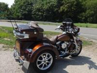 FOR SALE: Custom built h-d trike with 95ci enqine with