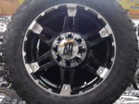 CUSTOM TRUCK WHEELS XD 797 GLOSS BLACK WITH MACHINED