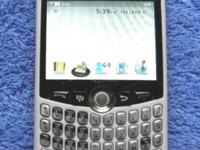 Blackberry Curve 8330 Smartphone. Tidy ESN and reset to