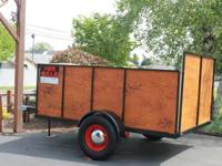 Custom Trailer- all steel construction-fully welded