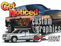 For the best in Custom Vehicle Graphics, call Auto Trim