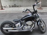 1999 Yamaha Vstar 1100cc Bobber Lots of custom work
