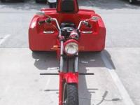 Up for sale is my VW Trike, built in 2006. Newly