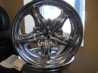 Used custom Rev. Wheels. Off of 08 Dodge Nitro 16x7""