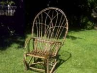Handmade willow chair $175.00 or best offer, custom