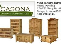 www.azcasona.com La Casona Wood Furniture is a custom