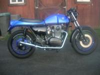This bike is based off of a 1979 Yamaha XS650