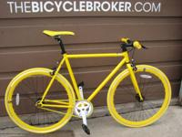 Here is a personalized single speed we simply developed